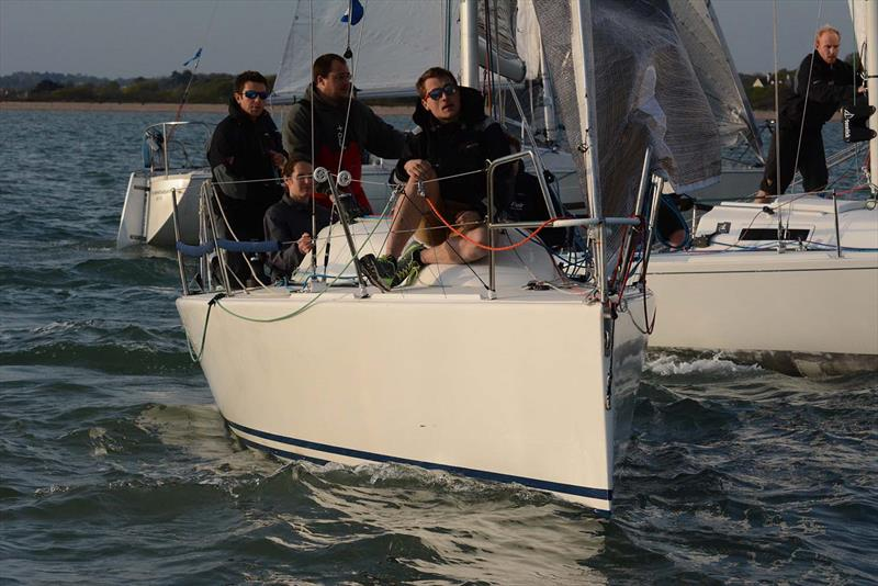 M'enfin on day 4 of the Hamble River Early Bird Series - photo © Trevor Pountain