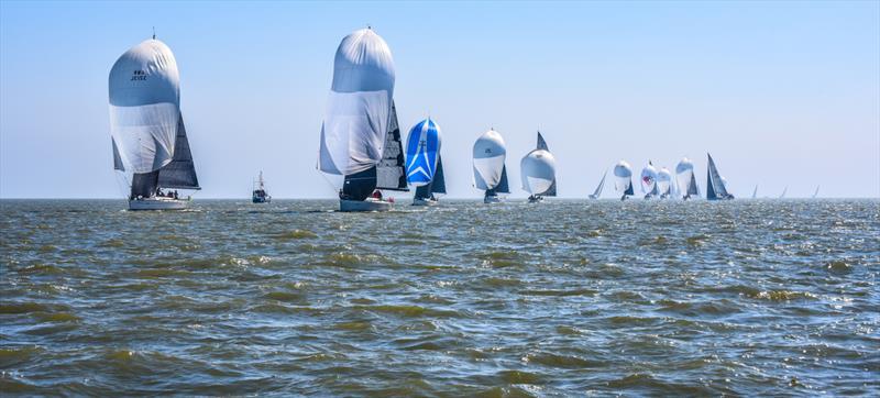 IRC fleet on the final weekend of the Crewsaver Warsash Spring Championship - photo © Andrew Adams / www.closehauledphotography.com