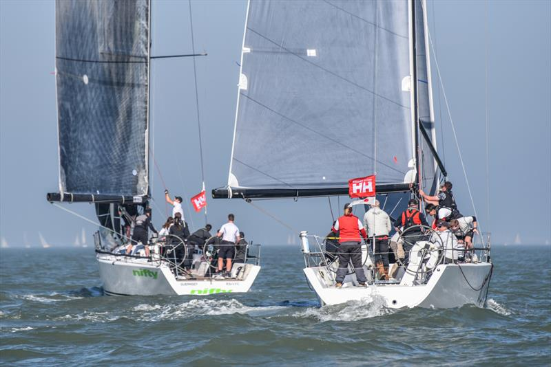 Nifty on the final weekend of the Crewsaver Warsash Spring Championship - photo © Andrew Adams / www.closehauledphotography.com