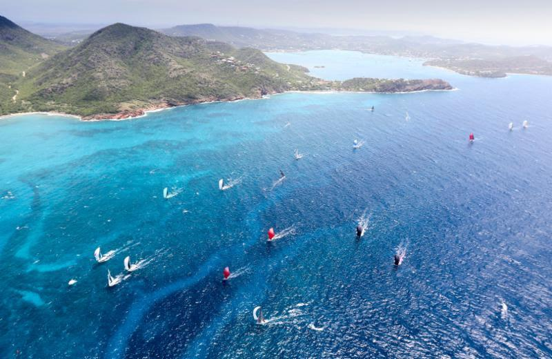 Let the celebrations begin! Anticipation is building for the start of the 50th edition of Antigua Sailing Week - photo © Paul Wyeth / www.pwpictures.com