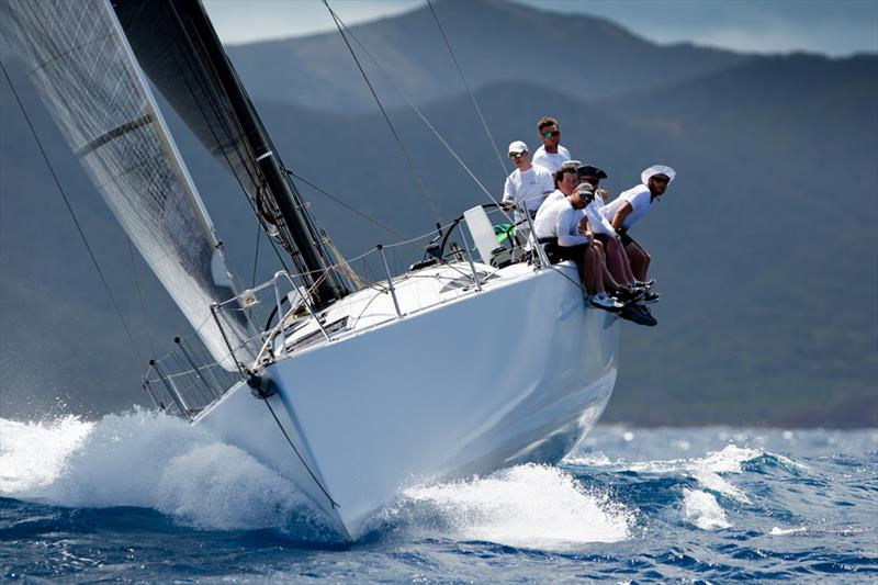 First place in CSA1 for Adrian Lee's Cookson 50 in the Peters & May Round Antigua Race - photo © Paul Wyeth / www.pwpictures.com