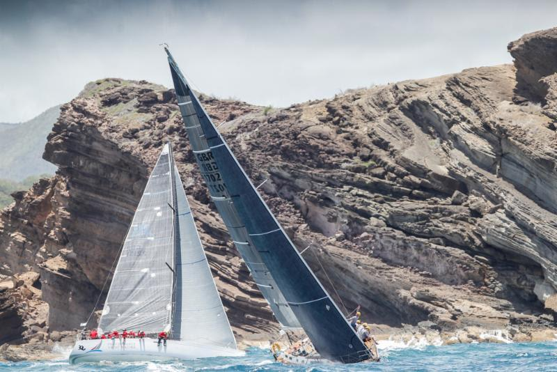 Quokka 8 - Performance Yacht Racing and Scarlet Oyster in CSA 5 on day 1 at Antigua Sailing Week - photo © Paul Wyeth / www.pwpictures.com