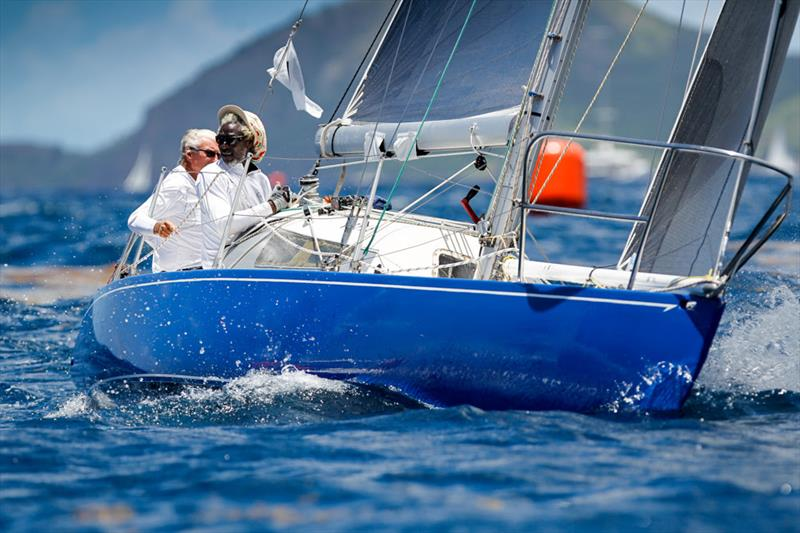 Geoffrey Pidduck's Modified 6 Metre, Biwi Magic on Race Day 4 at Antigua Sailing Week - photo © Paul Wyeth / www.pwpictures.com