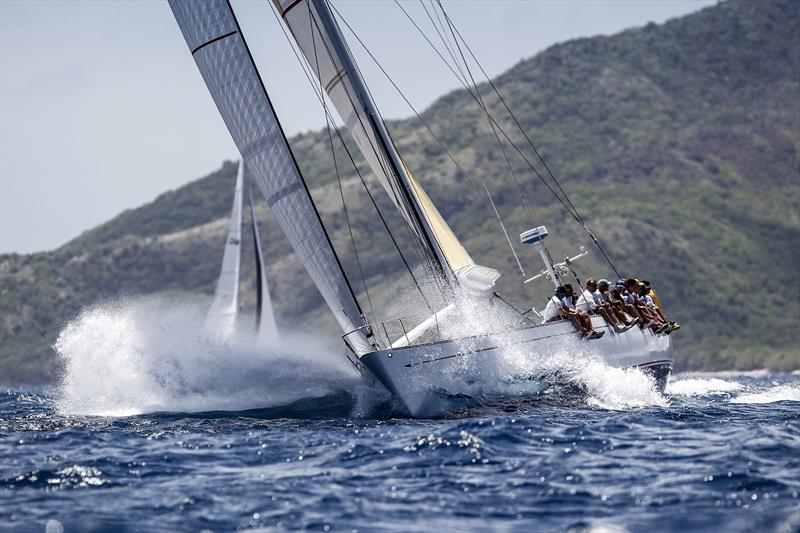 Seven bullets for the K3 Foundation's  Kialoa III at the 50th Antigua Sailing Week - photo © Paul Wyeth / www.pwpictures.com