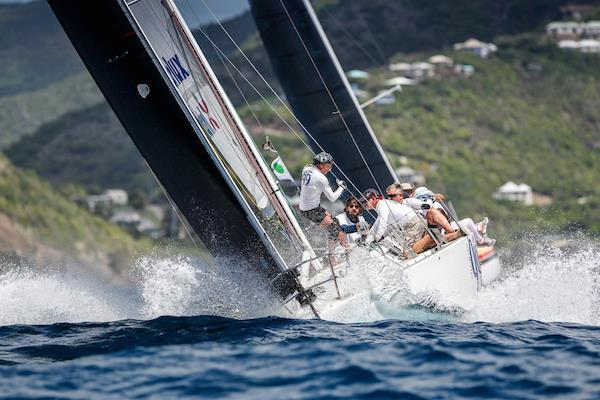 Best Caribbean Yacht and the Grant Thornton Trophy for Best Boat Overall in CSA 7-9 was Cary Byerley and Sir Robbie Ferron's Micron 99 Lord Jim at the 50th Antigua Sailing Week - photo © Paul Wyeth / www.pwpictures.com