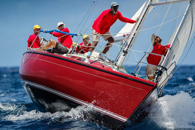 Steve Carson's Dehler 33, High Tide won CSA 8 after seven years of trying at the 50th Antigua Sailing Week - photo © Paul Wyeth / www.pwpictures.com