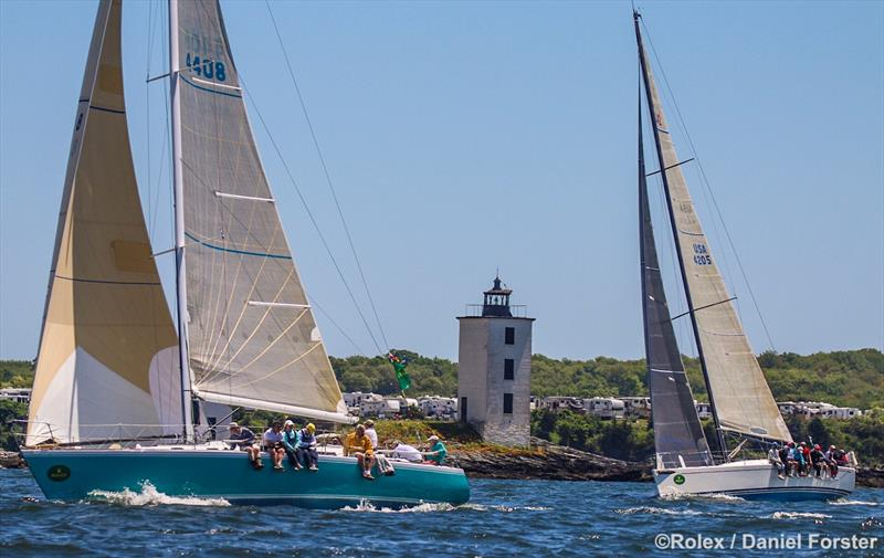 Around the Island Race at the 163rd New York Yacht Club Annual Regatta - photo © Rolex / Daniel Forster