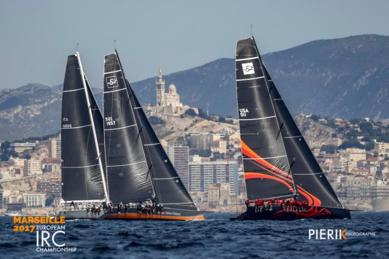 IRC European Championships - In IRC Zero local favourites Team Vision Future beat the powerful international crew on Phoenix by one point - photo © Pierik Jeannoutot