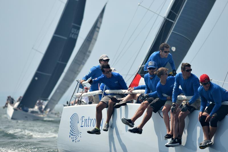Entropy during the IRC East Coast Championship at the New York Yacht Club - photo © Stuart Streuli / NYYC