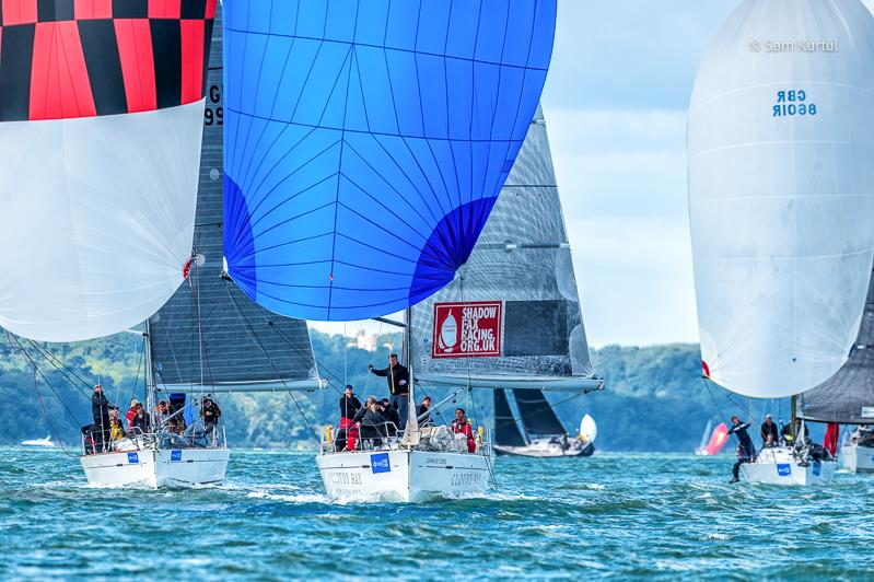 The sunshine returns on day 7 at Lendy Cowes Week 2017 - photo © Sam Kurtul / www.worldofthelens.co.uk
