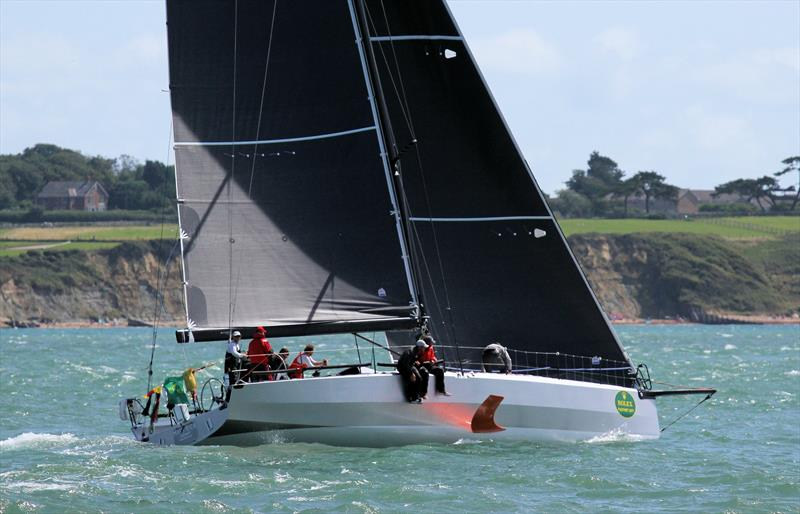 Maverick after the Rolex Fastnet Race start - photo © Mark Jardine / YachtsandYachting.com