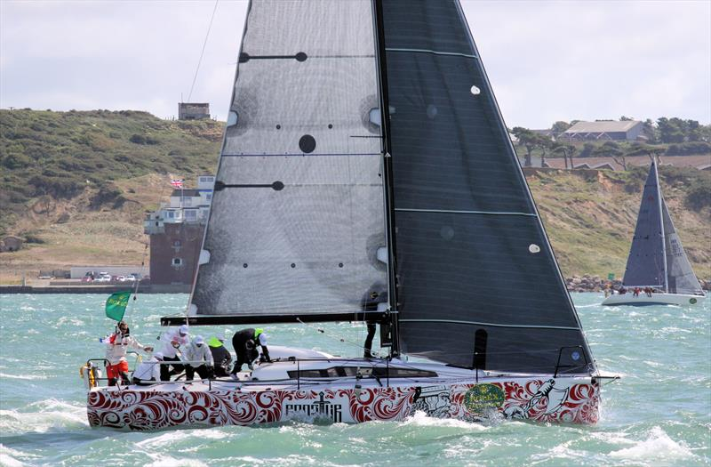Mid-tack after the Rolex Fastnet Race start - photo © Mark Jardine / YachtsandYachting.com