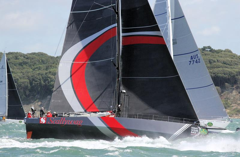 Scallywag after the Rolex Fastnet Race start - photo © Mark Jardine / YachtsandYachting.com