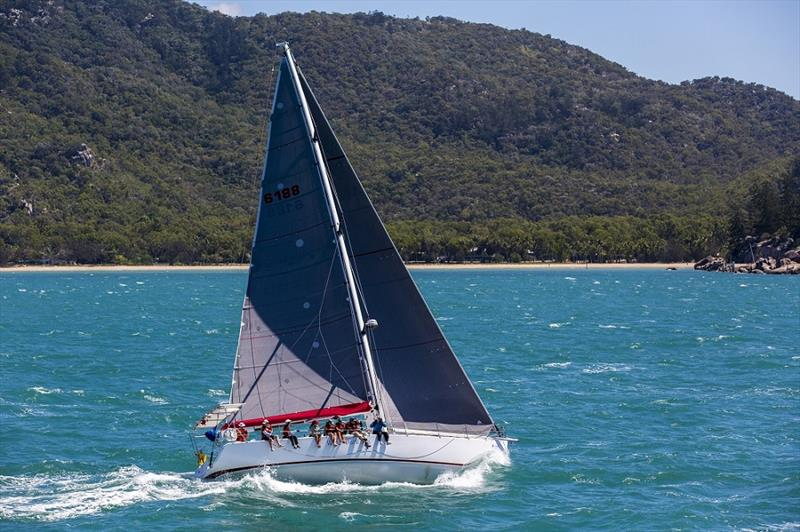 Wine Dark Sea powering along at SeaLink Magnetic Island Race Week last year - photo © Andrea Francolini