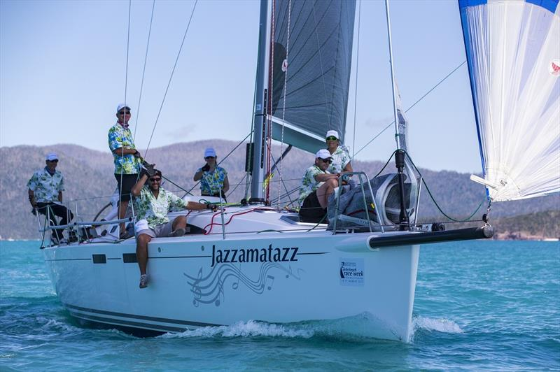 Well dressed on Jazzamatazz on day 2 of Airlie Beach Race Week 2017 - photo © Andrea Francolini