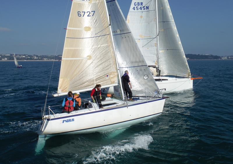 2Farr and Lady Penelope during the Jackson Yacht Services Bay Race Series - photo © Bill Harris