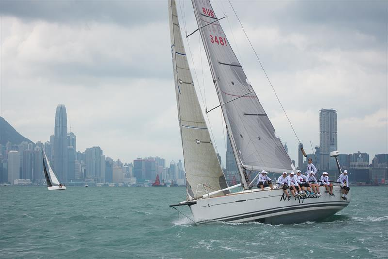 No Applause in the Volvo Hong Kong to Vietnam Race - photo © RHKYC / Naomi Rebecca