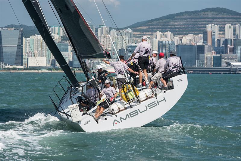 Ambush in the Volvo Hong Kong to Vietnam Race - photo © RHKYC / Naomi Rebecca