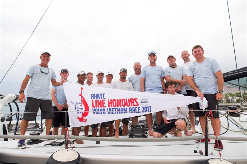 Line honours for Alive in the Volvo Hong Kong to Vietnam Race - photo © RHKYC / Naomi Rebecca