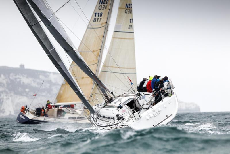 The future of RORC offshore sailing: Tom Needham wins the Duncan Munro Kerr Youth Challenge Trophy and both he and Neil Morton win the Keith Ludlow Trophy for best Navigator of the IRC Overall Yacht, Lisa - photo © Paul Wyeth / www.pwpictures.com