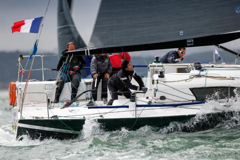 A great all-round performer: IRC Four winner - Noel Racine's JPK 10.10 Foggy Dew. The French team secured an impressive win in the 116-strong class fleet - photo © Paul Wyeth / www.pwpictures.com