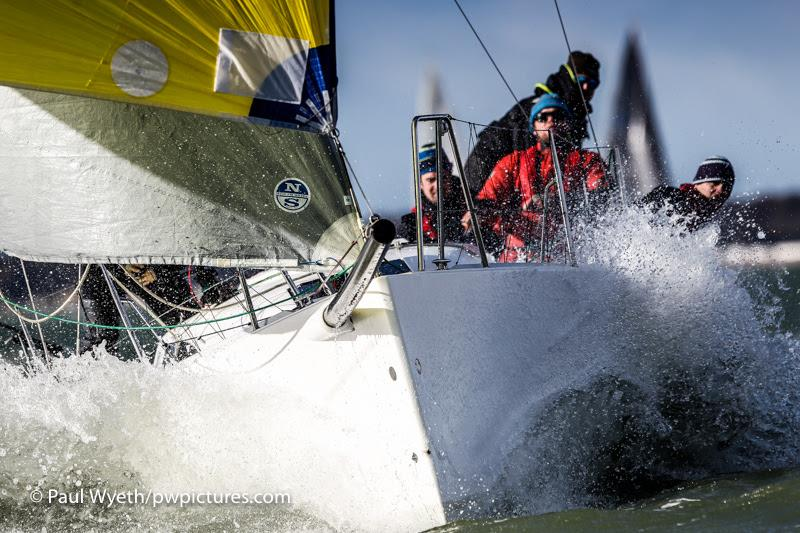 Day 6 of the Hamble Winter Series