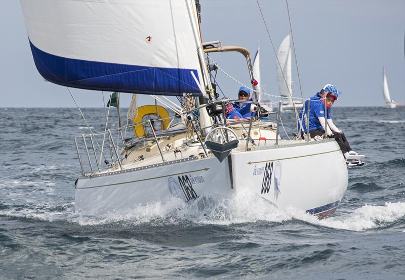 Mermaid (Mas Alegre) on day 3 of the Phuket King's Cup Regatta - photo © Guy Nowell / Phuket King's Cup