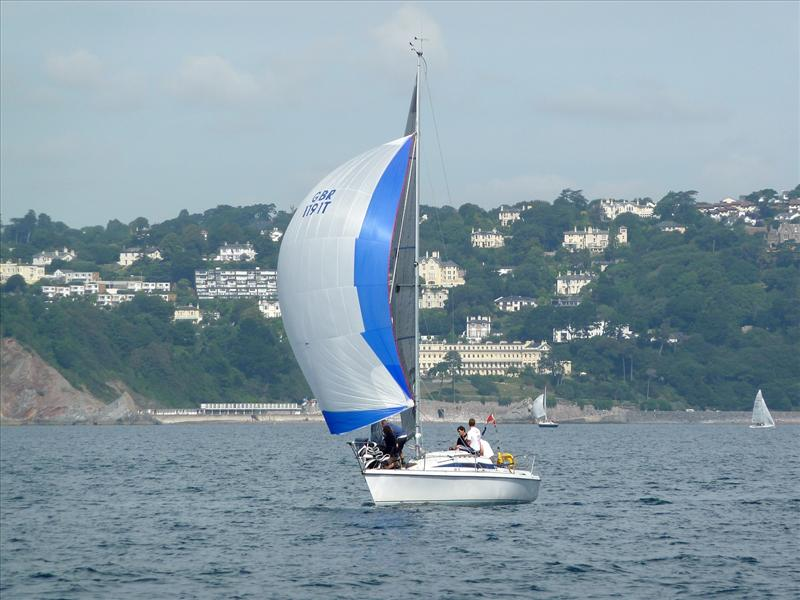 Elusive win IRC3 at Torbay Week photo copyright Tim Corbett taken at Royal Torbay Yacht Club and featuring the IRC class