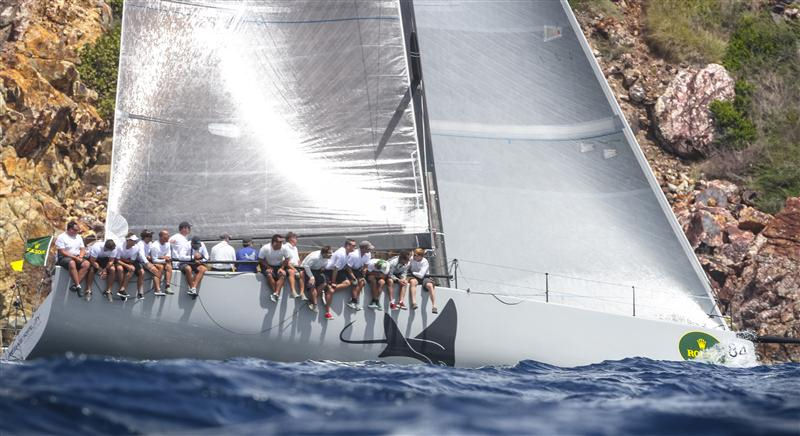 Powerplay on day 2 of the International Rolex Regatta