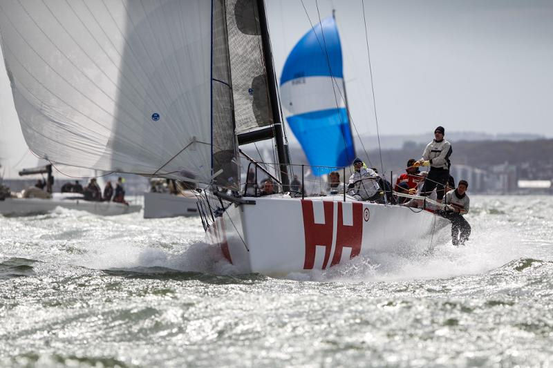 Jonathan Goring's Ker 40 Keronimo in the Warsash Spring Series photo copyright Paul Wyeth / www.pwpictures.com taken at Warsash Sailing Club and featuring the IRC class