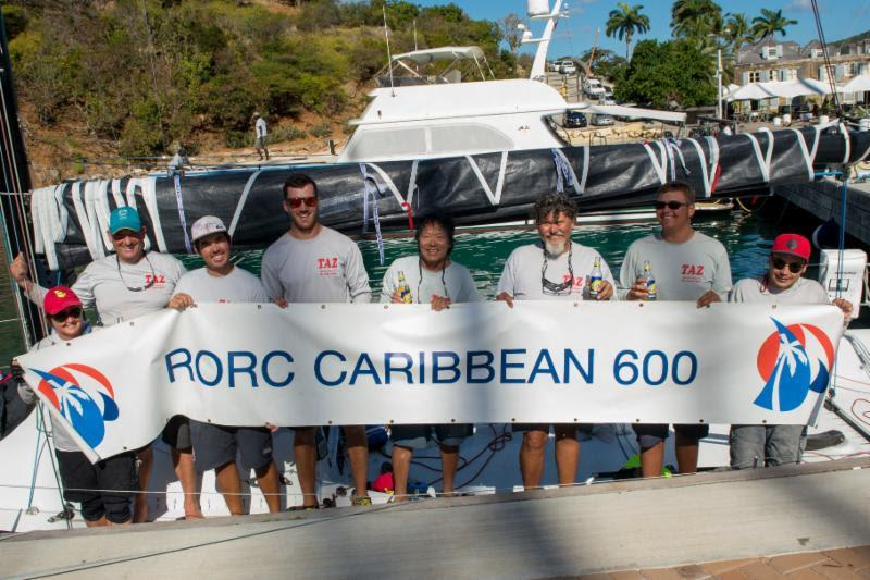 Antiguan Bernie Evan-Wong's RP37 TAZ was the winner of IRC One in the 2017 edition - photo © Ted Martin / RORC