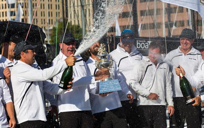 Ichi Ban claims the Tattersall's Cup in the 2019 Rolex Sydney Hobart Yacht Race - photo © Andrea Francolini
