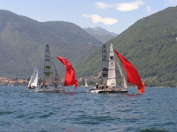 Action from the ISO Eurocup on Lake Maggiore