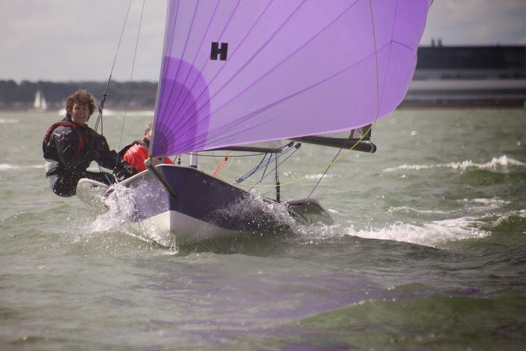 ISO national champions John Gill & Juliet Daniels at GJW Direct SailFest - photo © SailRacer