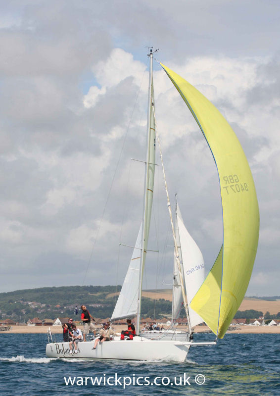 IRC winner BoJangles during the Sussex Yacht Club Summer ...