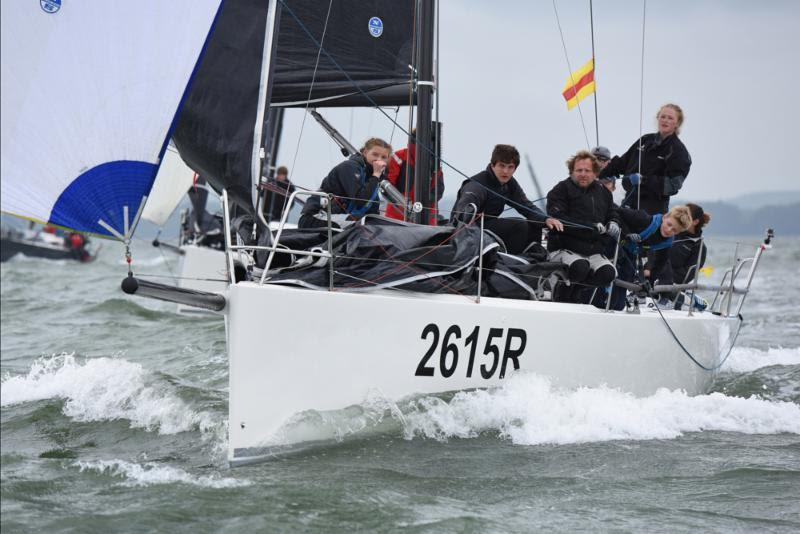Jelvis can expect fast action in the J111 fleet at the Vice Admiral's Cup - photo © Rick Tomlinson / www.rick-tomlinson.com