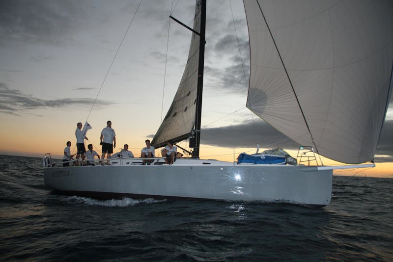 Marc Glimcher's J/122, Catapult during the RORC Caribbean 600 photo ...
