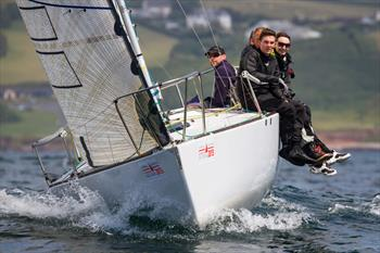 J/24 nationals at Atwell Martin Plymouth Race Week day 1