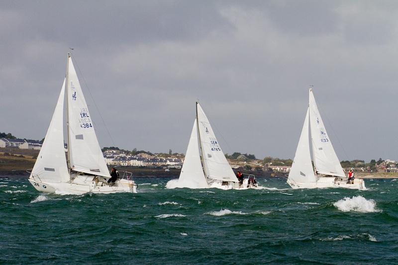 BMW J/24 Europeans at Howth Yacht Club - Day 2