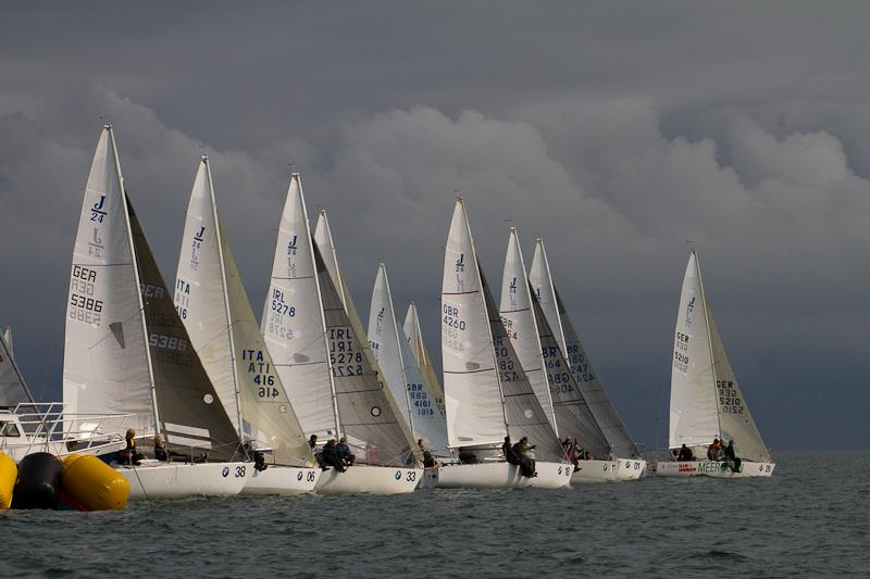 BMW J/24 Europeans at Howth Yacht Club - Overall