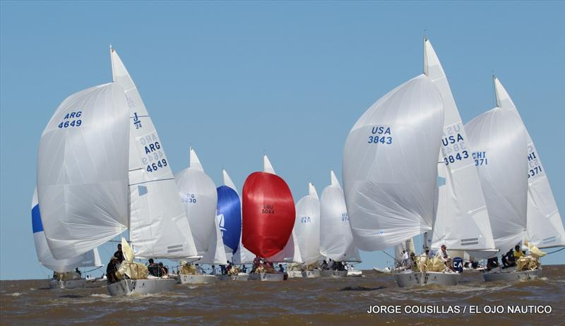 J/24 Worlds at Yacht Club Argentino, Buenos Aires - Day 2