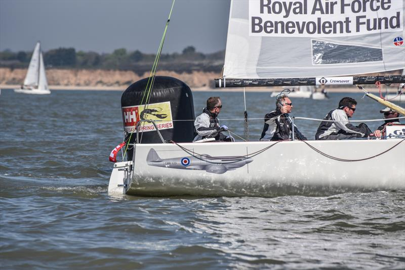Team Spitfire on Crewsaver Warsash Spring Championship Weekend 1 - photo © Andrew Adams / www.closehauledphotography.com