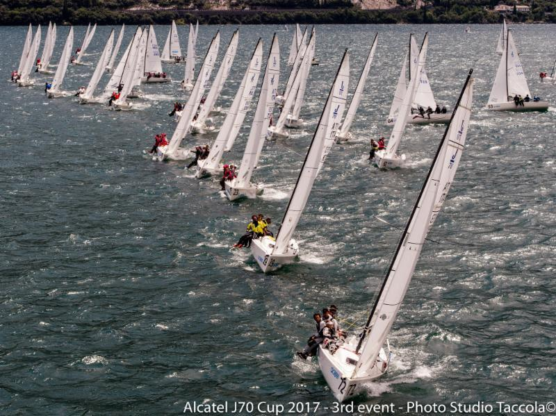Alcatel J/70 Cup Event 3 at Fraglia Vela Riva - photo © Studio Taccola