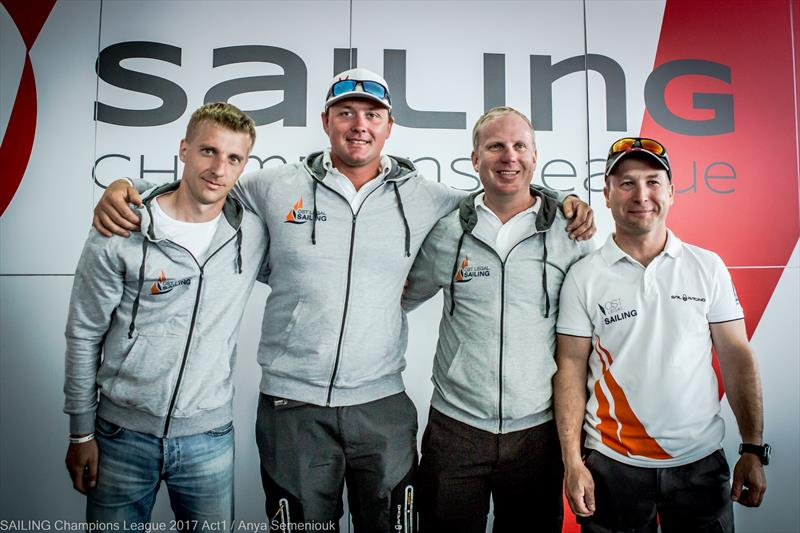 Ost Legal Sailing win day 1 of Sailing Champions League Act 1 in St. Petersburg - photo © Anya Semeniouk
