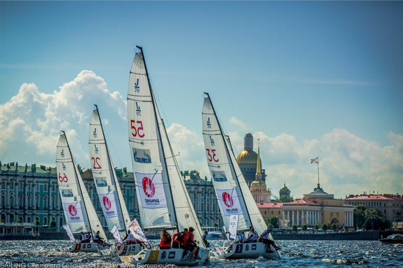 Day 2 of Sailing Champions League Act 1 in St. Petersburg - photo © Anya Semeniouk