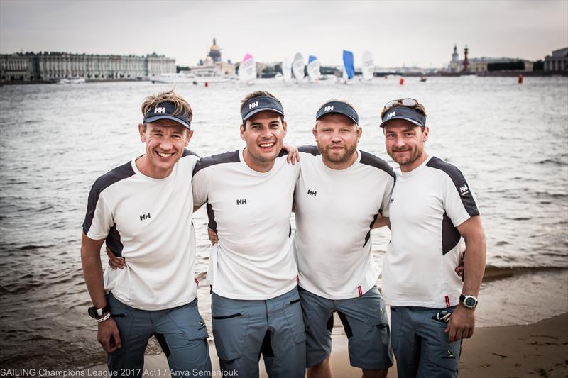 Team Frederikshavn Sejlklub win day 2 of Sailing Champions League Act 1 in St. Petersburg - photo © Anya Semeniouk