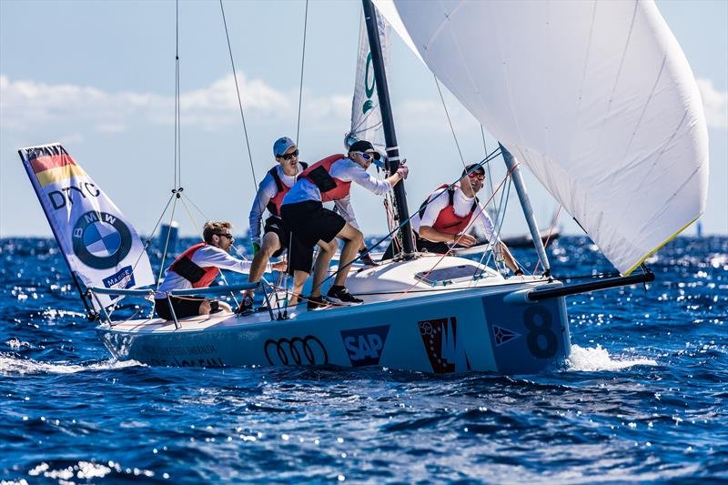 Deutscher Touring Yacht-Club on day 2 of the Audi SAILING Champions League Final - photo © SCL / Lars Wehrmann