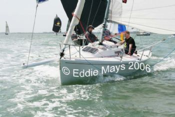 Action from the J80 Nationals sailed from Hamble