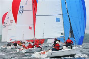 MIQ Logistics 2012 J/80 World Championship Powered by SLAM day 2