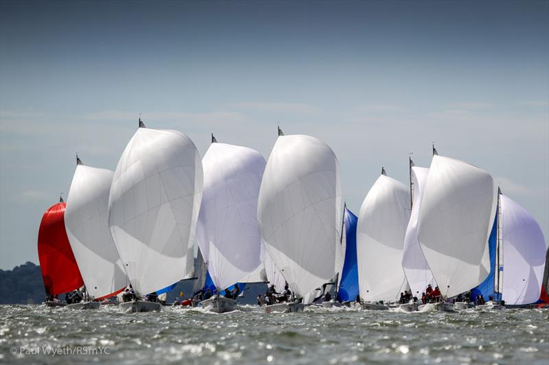 Day 5 of the J/80 World Championship at the Royal Southern - photo © Paul Wyeth / RSrnYC